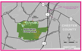 Baltimore County Zip Code Map by Directions To Nottingham County Park Chester County Pa