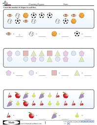 counting on worksheets free preschool counting practice math