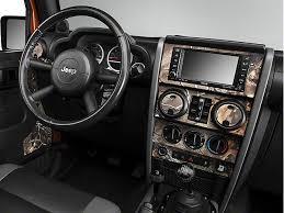 4 Door Jeep Interior Wrangler Real Tree Camo Dash Kit W Interior Door Camo 07 10