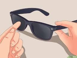 Jual Frame Ban Wayfarer 3 cara untuk memeriksa keaslian kacamata ban wikihow