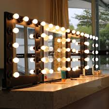 lighting for makeup artists simple and decent profession aluminum framed makeup artist mirror