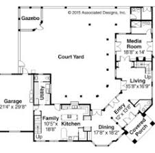 mediterranean home plans with courtyards home design timber bridge cottage plan courtyard house plans