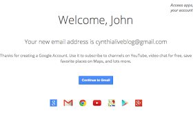 cara membuat akun google talk post cynthia johnson