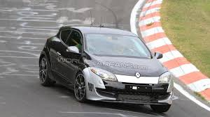 hotter renault megane rs special edition spied first time on
