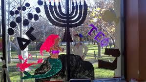 winnie the pooh menorah hofstra student hofstra celebrates the holidays