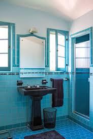 Blue Tile Bathroom Ideas 47 Best Amazing Vintage Bathrooms Images On Pinterest Bathroom