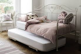 Laura Ashley Bedroom Furniture Collection Made To Order Furniture Alice Ivory Day Bed Open Coil Mattress