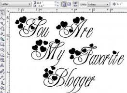 desain gambar untuk distro desain kaus distro you are my favorite blogger darinholic com