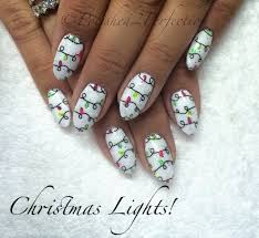 Christmas Light Nails by Stamping Fun Friday Christmas Lights Moyou London Stamping