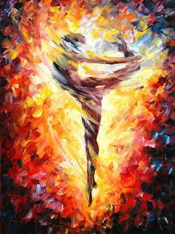 unique painting abstract artwork hand painted modern nude painting on canvas