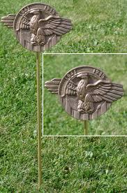 grave marker wwii veteran grave marker in cast bronze grave markers
