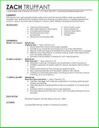 entry level esthetician resume sample http resumesdesign com
