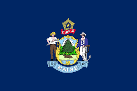 All The States Flags Image Flag Of Maine Png Vexillology Wiki Fandom Powered By Wikia