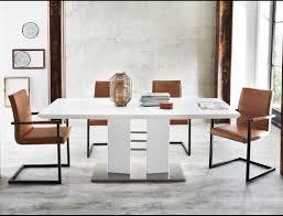 Esszimmergarnitur Essgruppe Tischgruppe Auszugtisch Gorden 4x Schwingstuhl Manina