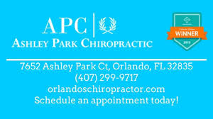 ashley park chiropractic reviews orlando fl chiropractor youtube