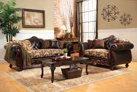 traditional sofas with wood trim modern sofa wood trim with wood trim sofa loveseat set image 1 of 18
