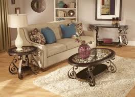Bombay Coffee Table Standard Furniture Bombay World End Table With Glass Top And S