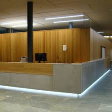 Concrete Reception Desk Corporate Concrete Design Exle Reception Desks From Dade