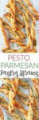 pesto parmesan pastry straws recipe party appetizers super