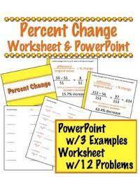 13 best math percent change images on pinterest math