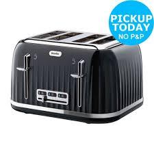 Argos Toasters 2 Slice Breville Vst041 2 Slice Deep Fill 850w Sandwich Toaster Silver