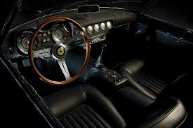 ferrari dashboard rare ferrari in california scoop news