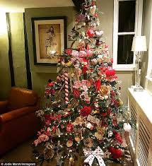 Ex Commercial Christmas Decorations by Fearne Cotton And Geri Horner Show Off Lavish Christmas