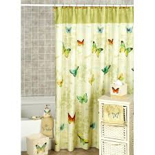 Fabric Shower Curtains With Valance Yellow Fabric Shower Curtain Discountant Net Curtains Valance