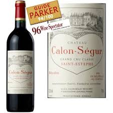 château calon ségur grand cru vin estèphe aoc