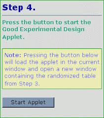 good experimental design journal of statistics education v9n1 anderson cook