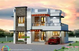 Modern Home Design Cost U20b9 25 Lakhs Cost Estimated Kerala Home Kerala Home Design And
