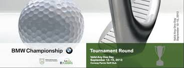 bmw tournament conway farms pga ticket to be the in lake county