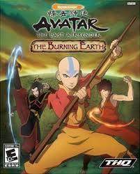 avatar airbender u2013 burning earth