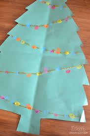 christmas kids craft fingerprint tree eclectic momsense