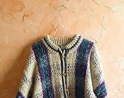 warm cardigan etsy