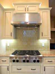 awesome tan glass subway tile backsplash pictures ideas amys office