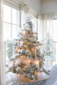 excellent winter white christmas tree design decorating ideas