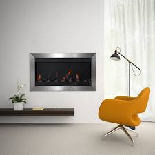 stainless steel bio ethanol fireplace heater smokeless 2 burner 43
