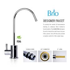 Faucet For Water Filter System Brio Compact 5 Stage Reverse Osmosis Drinking Water Filter