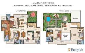 penthouse 4060 sq ft sector chi v greater noida