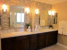 Double Vanity Mirrors For Bathroom by Here U0027s What The 12x24 Gray Tile Would Look Like In A Bathroom With