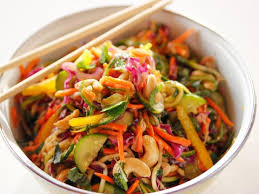 noodle salad recipes lighter asian noodle salad recipe ree drummond food network