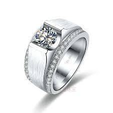 mens diamond engagement rings diamond engagement rings men mens ring white gold plated mens