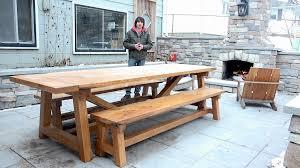 Farm House Tables Farmhouse Table U0026 Benches U2013 The Wood Whisperer Guild