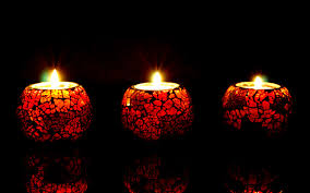 beautiful candle lights in background hd wallpapers rocks