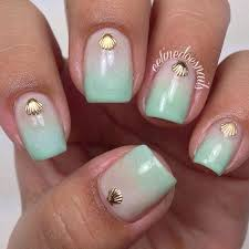 17 seashell summer nail ideas u2013 best simple home manicure u0026 new