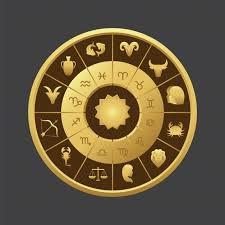 horoscope circle background design vector premium download
