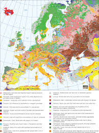Map Of Europe And Capitals by Average Annual Precipitation In Europe 550 550 Mapporn