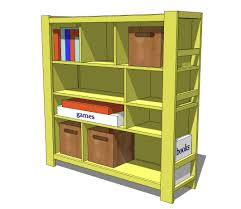 Free Woodworking Plans Bookcase by Ana White Compartment Depot Bookshelf Diy Projects