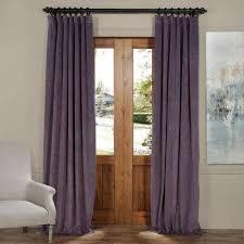 Unique Drapes And Curtains Purple Curtains U0026 Drapes Window Treatments The Home Depot